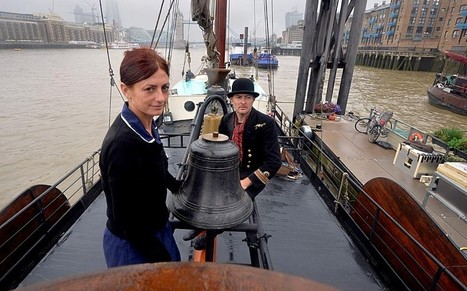 Bells and whistles celebrate the River Thames's rich maritime history - Telegraph | Culture and the Sea: Film, Literature, Art and Music | Scoop.it