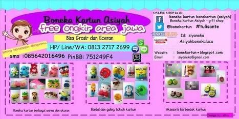 Boneka Kartun Asiyah -  gift shop | boneka | Scoop.it