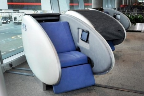 Abu Dhabi Airport Offers Sleeping Pods To Weary Travelers - PSFK | Idées d'ailleurs | Scoop.it