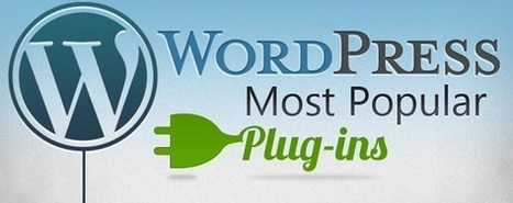Les 30 Plugins les plus Populaires de WordPress | Actualité Marketing et Commerce sur Internet | Scoop.it