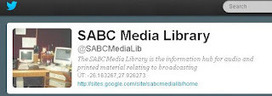SABC Media Libraries: Follow a library day today! #followalibrary | The Information Professional | Scoop.it