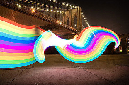 Pixelstick: An Amazing Device That Lets You Paint With Light | Inspiration | Scoop.it