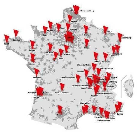 SFR étend sa 4G à plusieurs villes de province et Ile-de-France | Geeks | Scoop.it