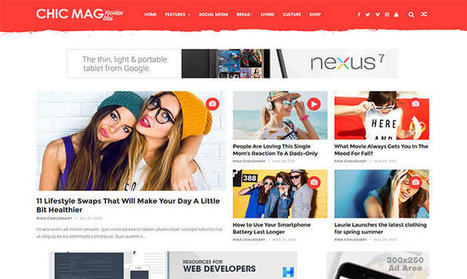 ChicMag Blogger Template | Pro Templates Lab | Scoop.it