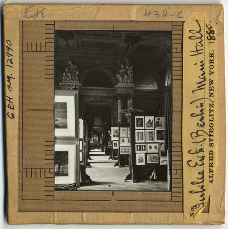 Lantern slides from the Alfred Stieglitz colection | Photography as a narrative art | Scoop.it