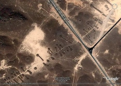 Thousands Unknown Ancient Structures Seen From Space - Puzzling Aerial Archeology In The Middle East - MessageToEagle.com   Anthropology and Archaeology   Scoop.it