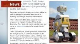 Tres robots ayudarán a vigilar a presos en una cárcel de Corea del Sur   www.postmundo.com   Psicopatologia - Psychopathology   Scoop.it
