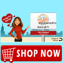 Shopclues Deal: Shopclues.com Sunday Flea Market Deals 14th February 2016 along with 10% Cashback | indiadime | Scoop.it