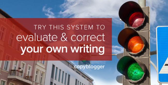 The Traffic Light Revision Technique for Meticulously Editing Your Own Writing - Copyblogger | Redacción de contenidos, artículos seleccionados por Eva Sanagustin | Scoop.it