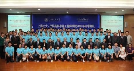 Chine : François Hollande inaugure ParisTech Shanghai JiaoTong | Enseignement Supérieur et Recherche en France | Scoop.it