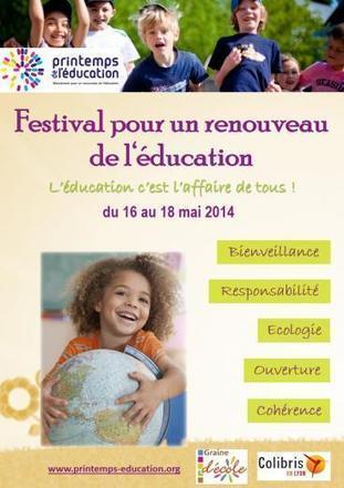 Festival pour un renouveau de l'Education - Colibris 69 Lyon Reliance | Communication non-violente et pédagogie active | Scoop.it