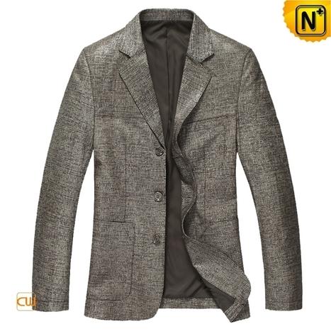 CWMALLS Mens Blazer Jacket CW814132 | Leather Blazer Jacket | Scoop.it