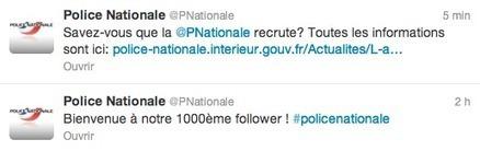 [Social Media] Comment la Police Nationale compte dépoussiérer ... - Frenchweb.fr   Usages des TIC   Scoop.it