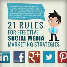 21 reglas para una estrategia efectiva de marketing en los social media : Marketing Directo | Educación y nuevas tecnologías (evolución) | Scoop.it