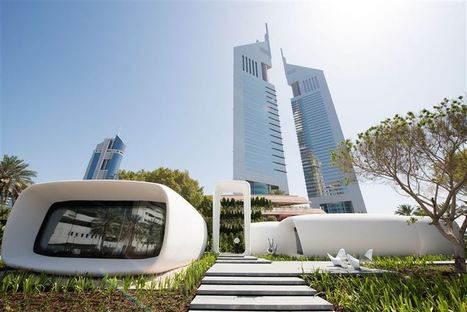 In Dubai, office buildings happen to be 3D printed | Transmedia Storytelling meets Tourism | Scoop.it