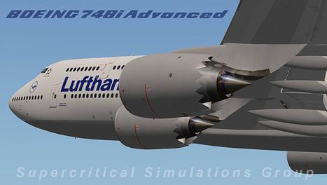 X-plane reviews : SSG Boeing 748i Advanced | Microsimulation | Scoop.it