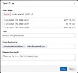 SoShare. Envoyer des fichiers sans limite de taille. | Les outils du Web 2.0 | Scoop.it