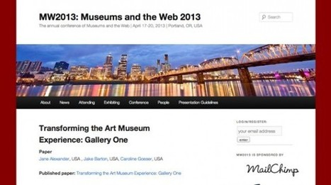 «Best of the Web Awards 2013″: Rijksmuseum sort grand gagnant   Clic France   Scoop.it