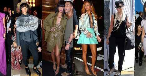 Rihanna's Style Is Now Officially Award | Shopping News | Scoop.it