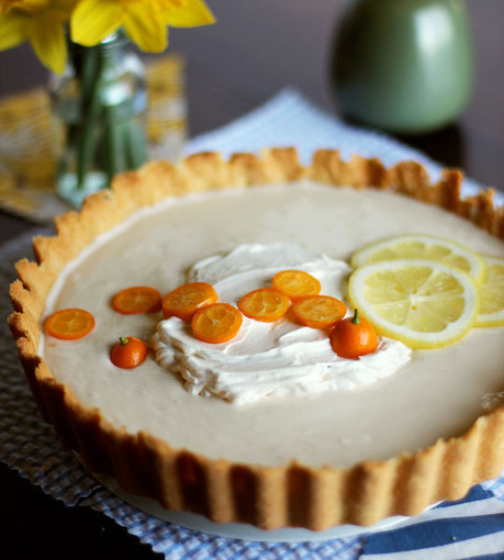 Lemon Yogurt Icebox Tart Recipe | Delicious Desserts and Dessert Recipes | Scoop.it