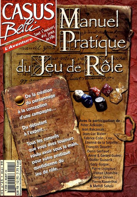 Manuel pratique du Jeu de Rôle par Pierre Rosenthal | Imaginaire et jeux de rôle : news | Scoop.it