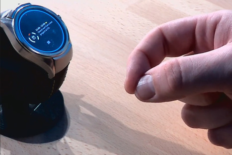 Project Soli showcased on a smartwatch at Google I/O | Tech News | Scoop.it