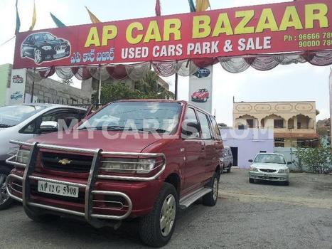 CHEVROLET TAVERA Red,2007 in Hyderabad   Buy a car in hyderabad   Scoop.it