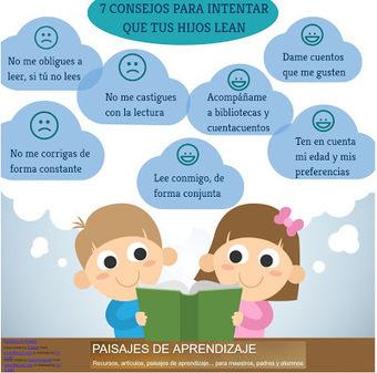 7 CONSEJOS PARA QUE TUS HIJOS LEAN | Educacion, ecologia y TIC | Scoop.it