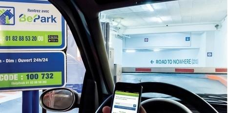 Comment BePark veut révolutionner le parking à Paris | Parkings à Paris | Scoop.it
