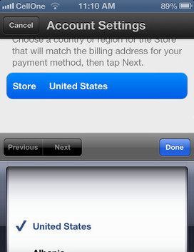 How to Change App Store Country Region in iPhone or iPad! | technology | Scoop.it