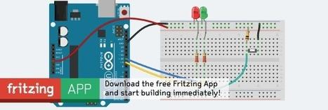 Generando esquemas de nuestros montajes electrónicos: Fritzing y 123D Circuits   tecno4   Scoop.it
