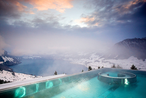 Villa Honegg - A Luxury Hotel with the Most Beautiful Pool View in the World | Art, Design & Technology | Scoop.it