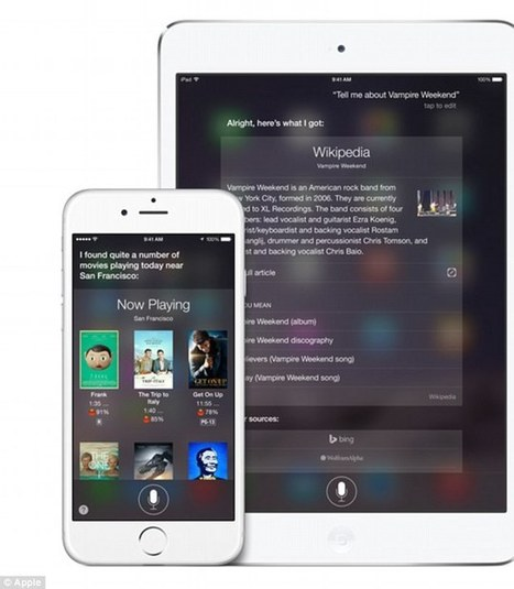 Siri to transcribe voicemailso iPhone users never have to listen | Kickin' Kickers | Scoop.it