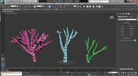 MaxScript tutorial: Creating a Voxel Tree | CG Daily news | ARCHIresource | Scoop.it