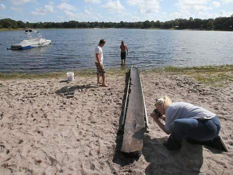 Dugout canoe resurrected from lake | Archaeology News | Scoop.it