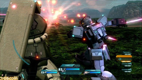 First Screenshots for Gundam Side Story: Missing Link | Cartoons for Kids | Scoop.it
