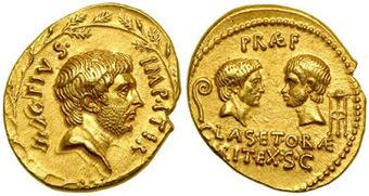 Los Fuegos de Vesta: Segundo Triunvirato (III Parte): La Guerra contra Sexto Pompeyo | Mundo Clásico | Scoop.it