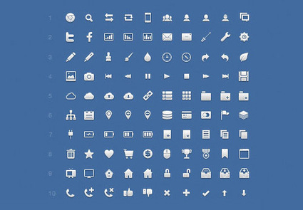 70+ Free Icon Sets You Should Have in Your Bookmarks | Design | Scoop.it