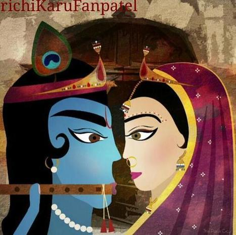 ॐ richiKaruFanpatel sur Twitter | Radha Krishna | Scoop.it