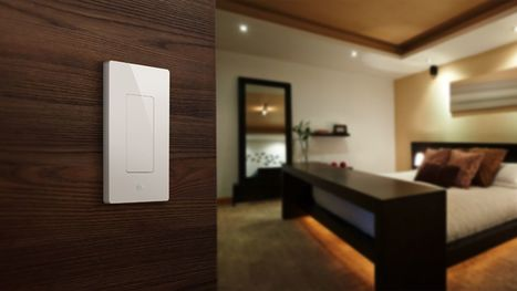 There's now a light switch for Apple's HomeKit - TheVerge | Smart Home & Connected Things | Scoop.it