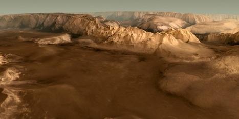 Vidéo. Époustouflante vision de Mars en 3D | Ca m'interpelle... | Scoop.it