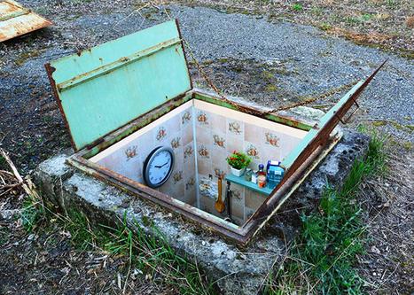 biancoshock hides miniature underground rooms inside manholes in milan | urban class | Scoop.it