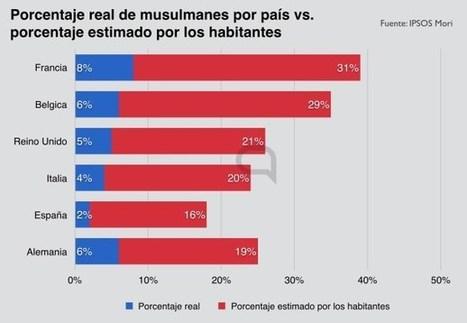 La situación de los musulmanes en Europa, en gráficos | Activismo en la RED | Scoop.it