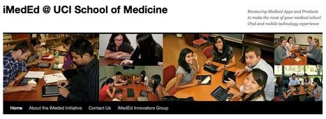 iMedEd @ UCI School of Medicine | Reviewing Medical Apps and Products to make the most of your medical school iPad and mobile technology experience | Curtin iPad User Group | Scoop.it