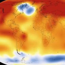 Il 2015 è stato l'anno più caldo dal 1880: +0,23 gradi in un solo anno. La conferma da Nasa e Noaa | Planets, Stars, rockets and Space | Scoop.it