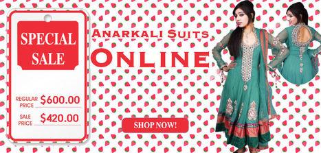 Indian Designer Anarkali Suits | Anarkali Suits | Scoop.it