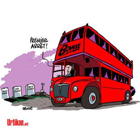 Londres : un David Bowie's tour pour hommage | Dessinateurs de presse | Scoop.it