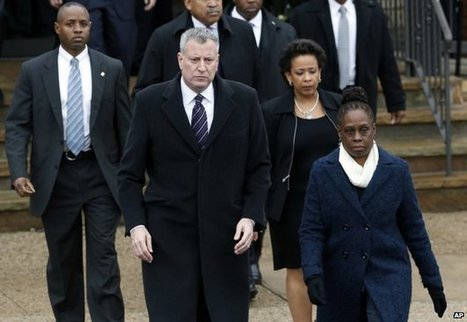 New police funeral snub for NY mayor | G+P US | Scoop.it