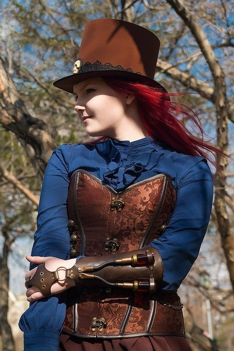 Spring - steampunk style | Choose Steampunk | Scoop.it