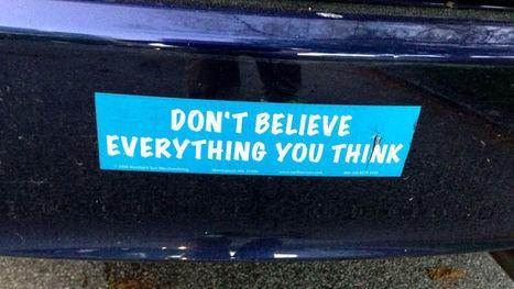 Adjust your beliefs to handle the crappy events in your life better | memoir writing | Scoop.it